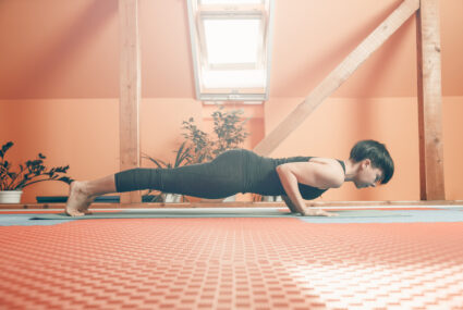 Yoga pros see chaturanga done wrong all the time—here's how to build enough strength to nail it