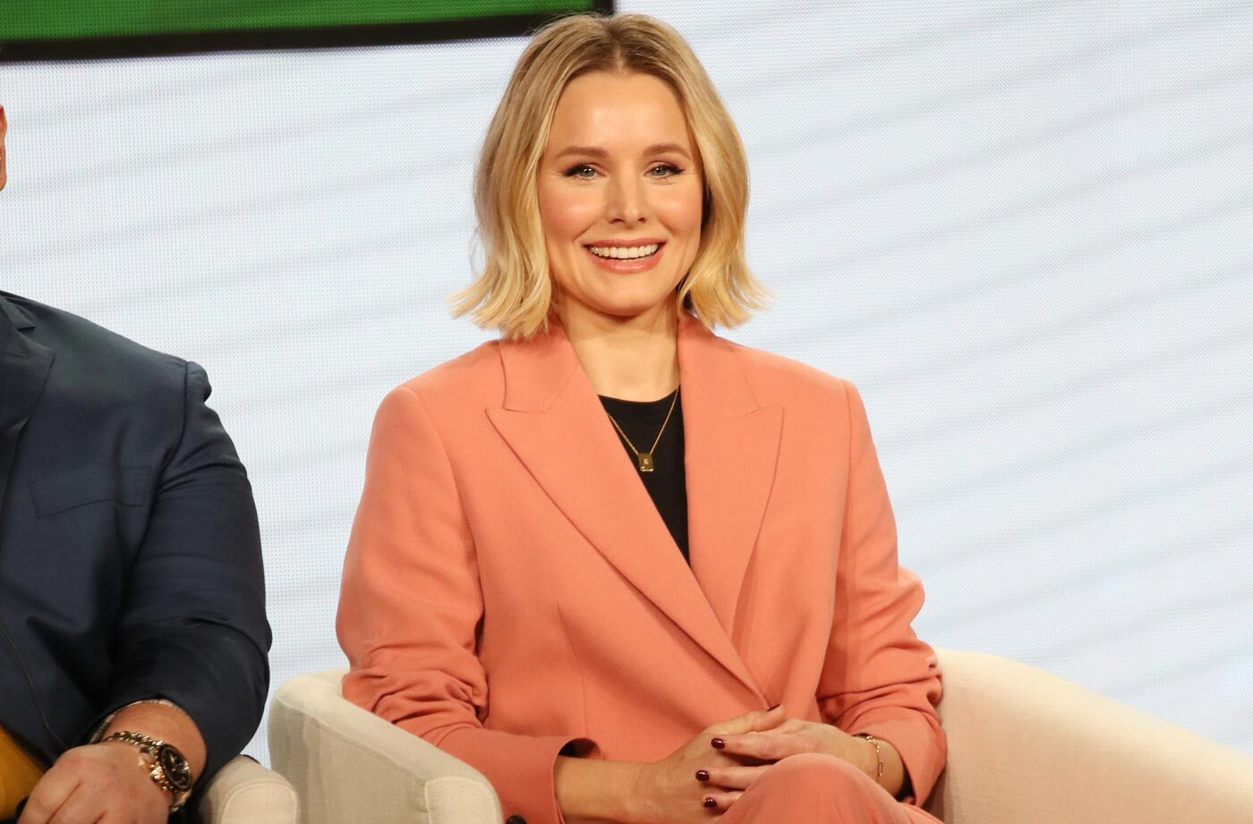Thumbnail for Kristen Bell Is Partnering With Lord Jones for an Affordable CBD Line Called 'Happy Dance'