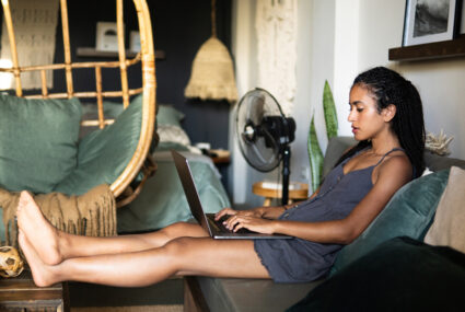 How to give yourself a neck and shoulder massage at home, because that computer posture life is so, so real