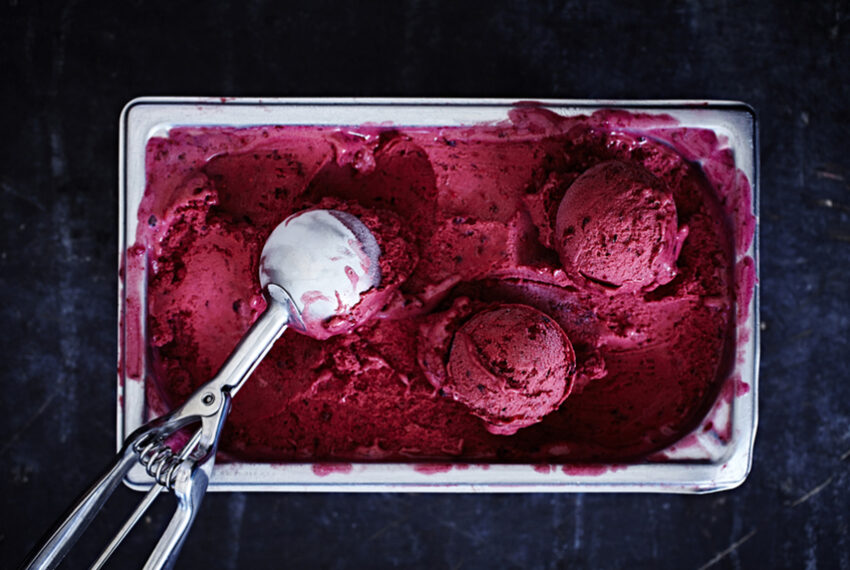 This 2-ingredient vegan blueberry ice cream recipe satisfies your sweetest sweet tooth