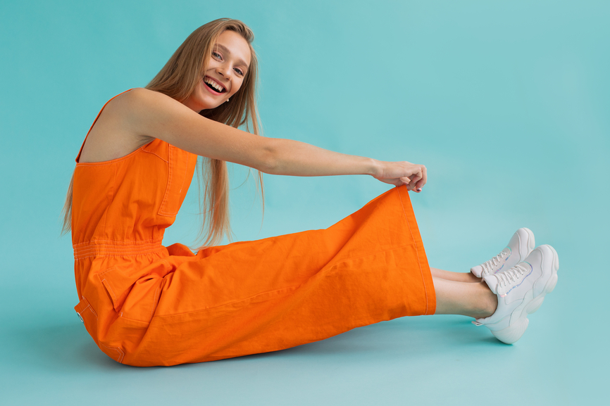 Thumbnail for 10 Under-$100 Jumpsuits That Are the Comfiest Thing to Wearing No Pants at All