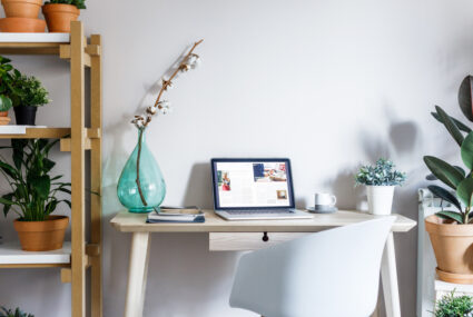 9 Small Home Office Ideas To Curb Clutter Well Good