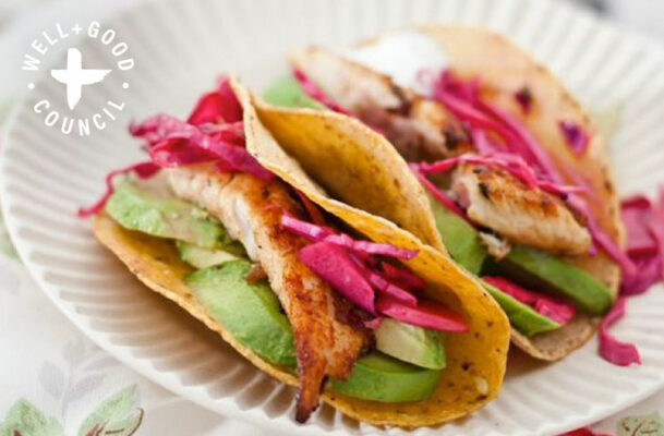 This Healthy Fish Taco Recipe Is Like a Beach Day on a Plate