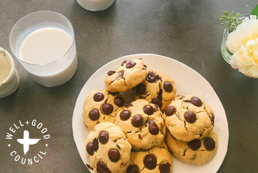 If chocolate chip cookies and banana bread had a baby, this recipe would be the ooey-gooey result