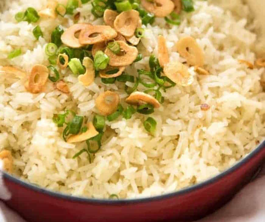 garlic rice recipe