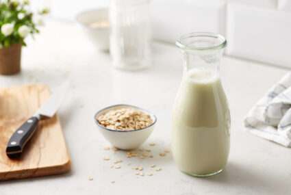 You only need 2 ingredients to make your own delicious oat milk at home