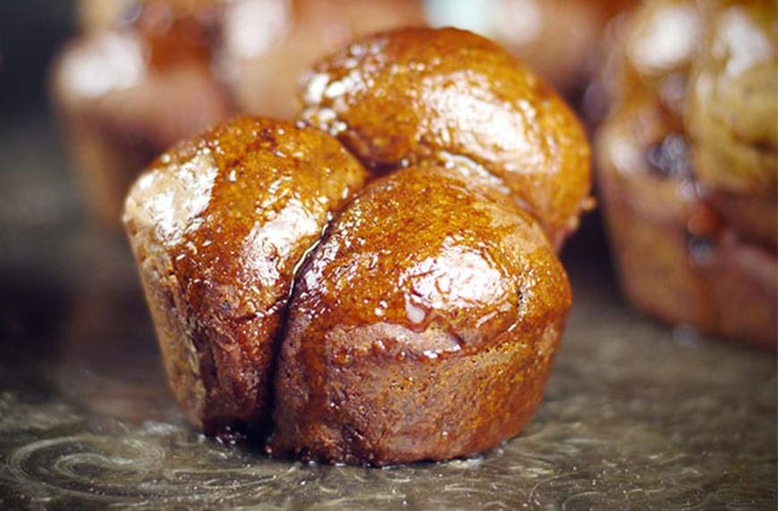 CINNAMON RAISIN YEAST-FREE FUNKY MONKEY BREAD, healthy quick bread recipes