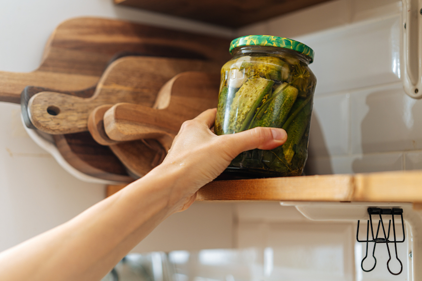 Thumbnail for What to Do With Pickle Juice, the Sneaky Probiotic Food Hiding in Your Fridge