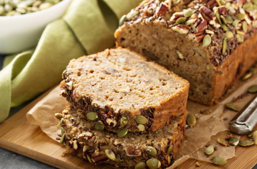 Seed Bread, healthy quick bread recipes