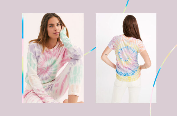 Why Tie-Dye Became the Quarantine Uniform of Choice for Many At-Home Workers