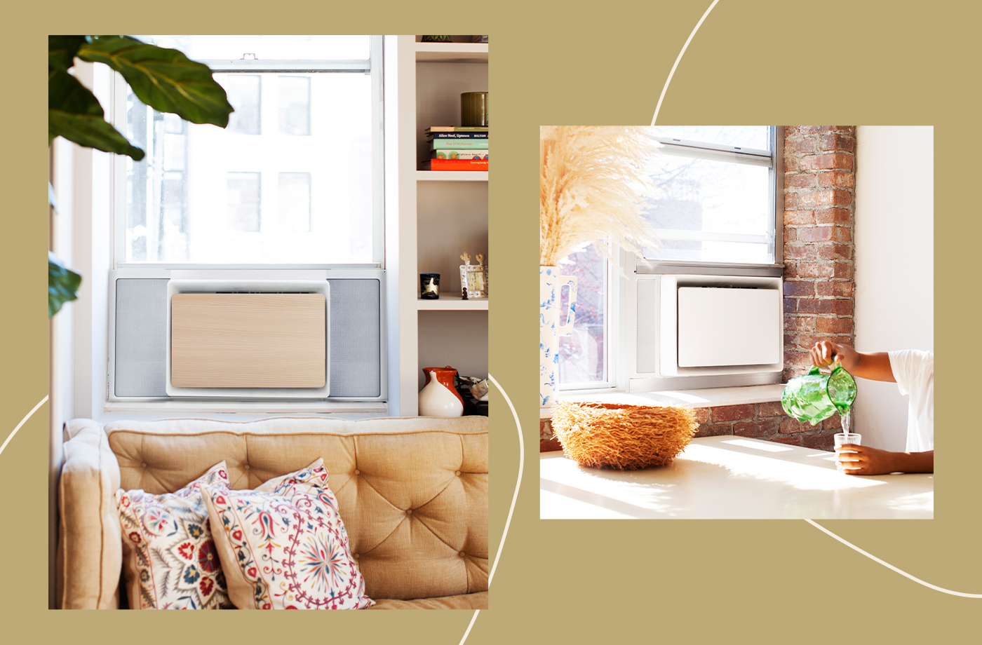 Thumbnail for 5 Aesthetically Pleasing Window Air Conditioners That Get the Job Done and Look Good Doing It