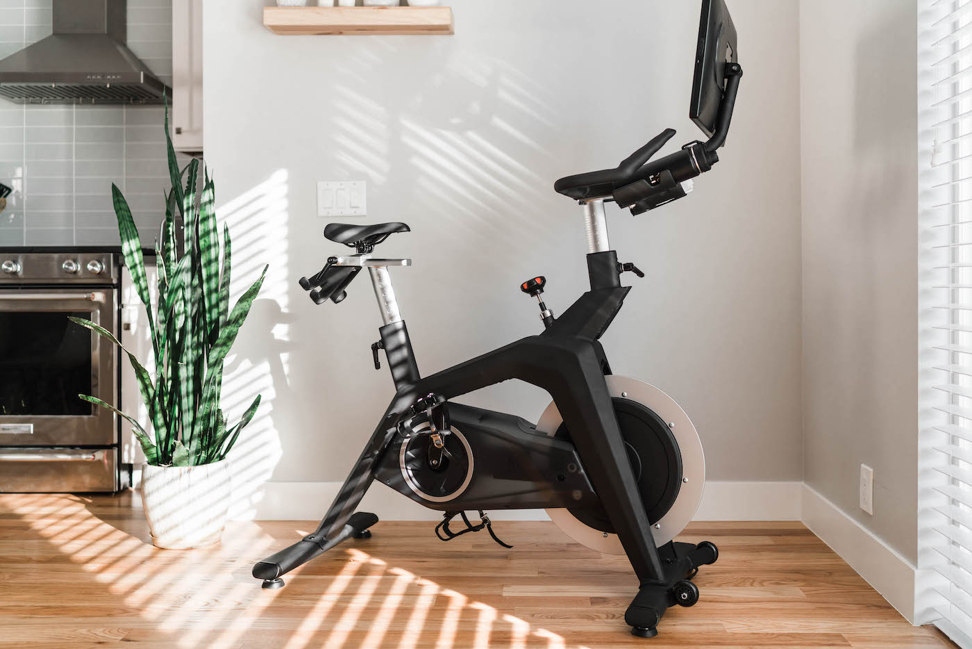 Thumbnail for I Never Thought I'd Be a Fan of at-Home Spin, but the Stryde Bike Changed My Mind