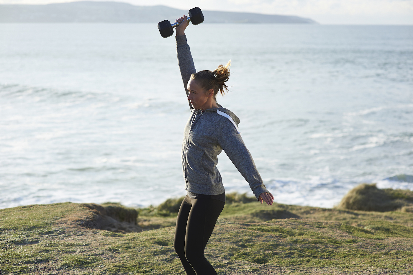 Thumbnail for The Dumbbell Power Snatch Is One of the Best Full-Body Exercises for Strength and Agility