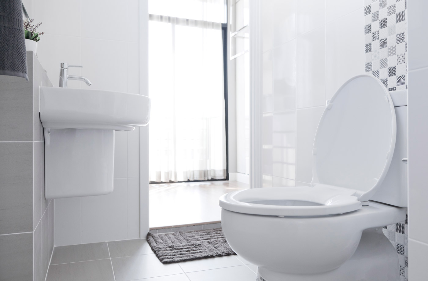 Thumbnail for What You Need to Know About COVID-19 and the Toilet, According to a New Study