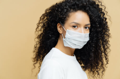 mouth sores from wearing masks