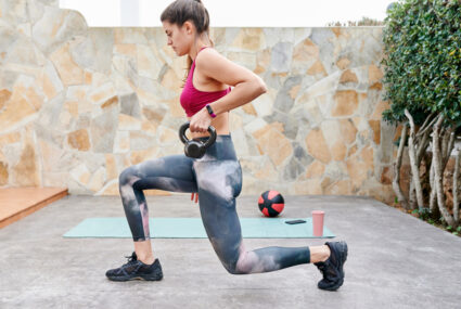 3 Lunge-Adjacent Moves That Are *Way* Less Demanding on Your Knees