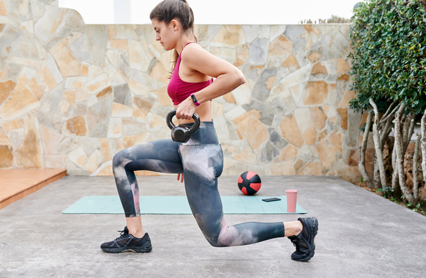 Thumbnail for 3 Lunge-Adjacent Moves That Are *Way* Less Demanding on Your Knees
