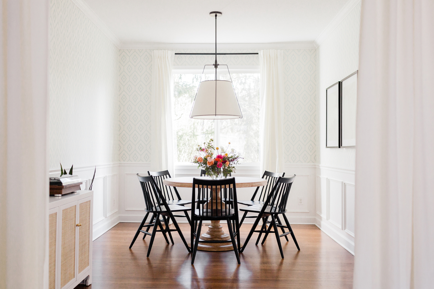 Small Dining Room Ideas To Reduce Crowding And Clutter Well Good