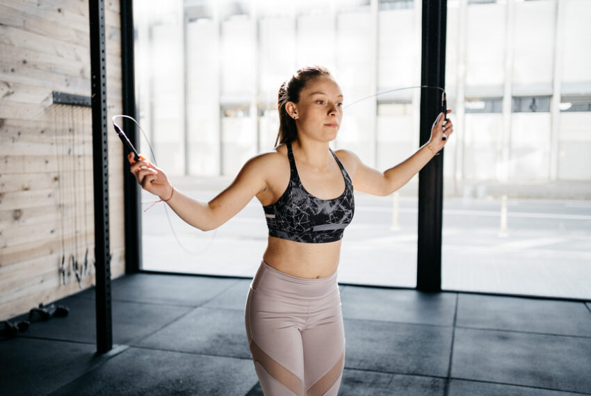 Cut Your Hour-Long Workout in Half With These 5 Metabolism-Boosting HIIT Moves