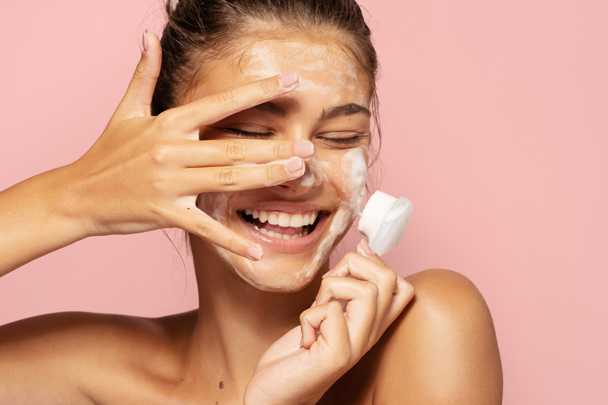 Thumbnail for Want a 1-Step Skin-Care Routine? A Do-It-All Cleanser Could Be the Way