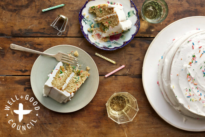 Make Any Day Feel Like a Celebration With This Vegan Funfetti Cake