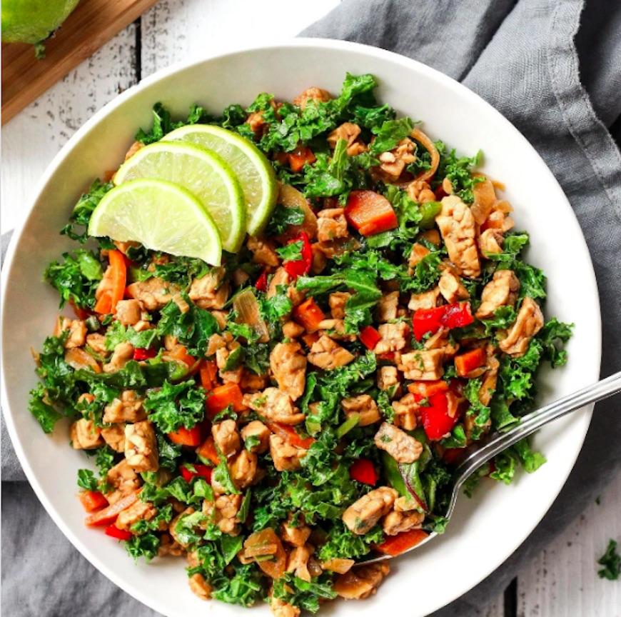 tempeh salad recipe