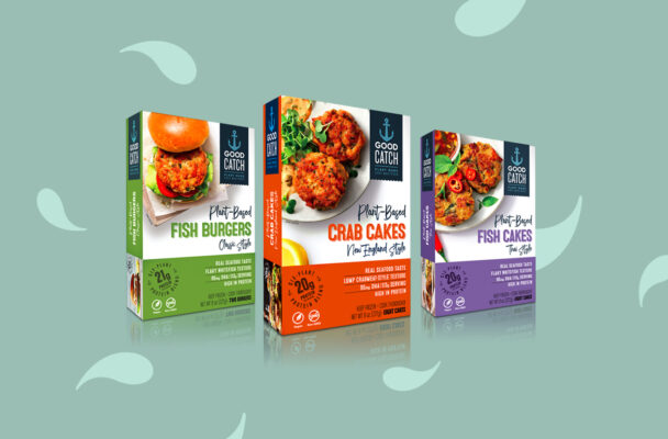 Plant-Based Crab Cakes and Salmon Burgers Are Coming Soon to a Freezer Section Near You