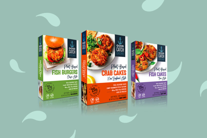 Plant-Based Crab Cakes and Fish Burgers Are Coming Soon to a Freezer Section Near You