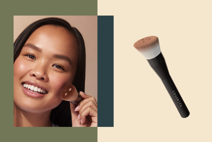 This Custom Foundation Brush Gives You the Exact Coverage You're Looking For