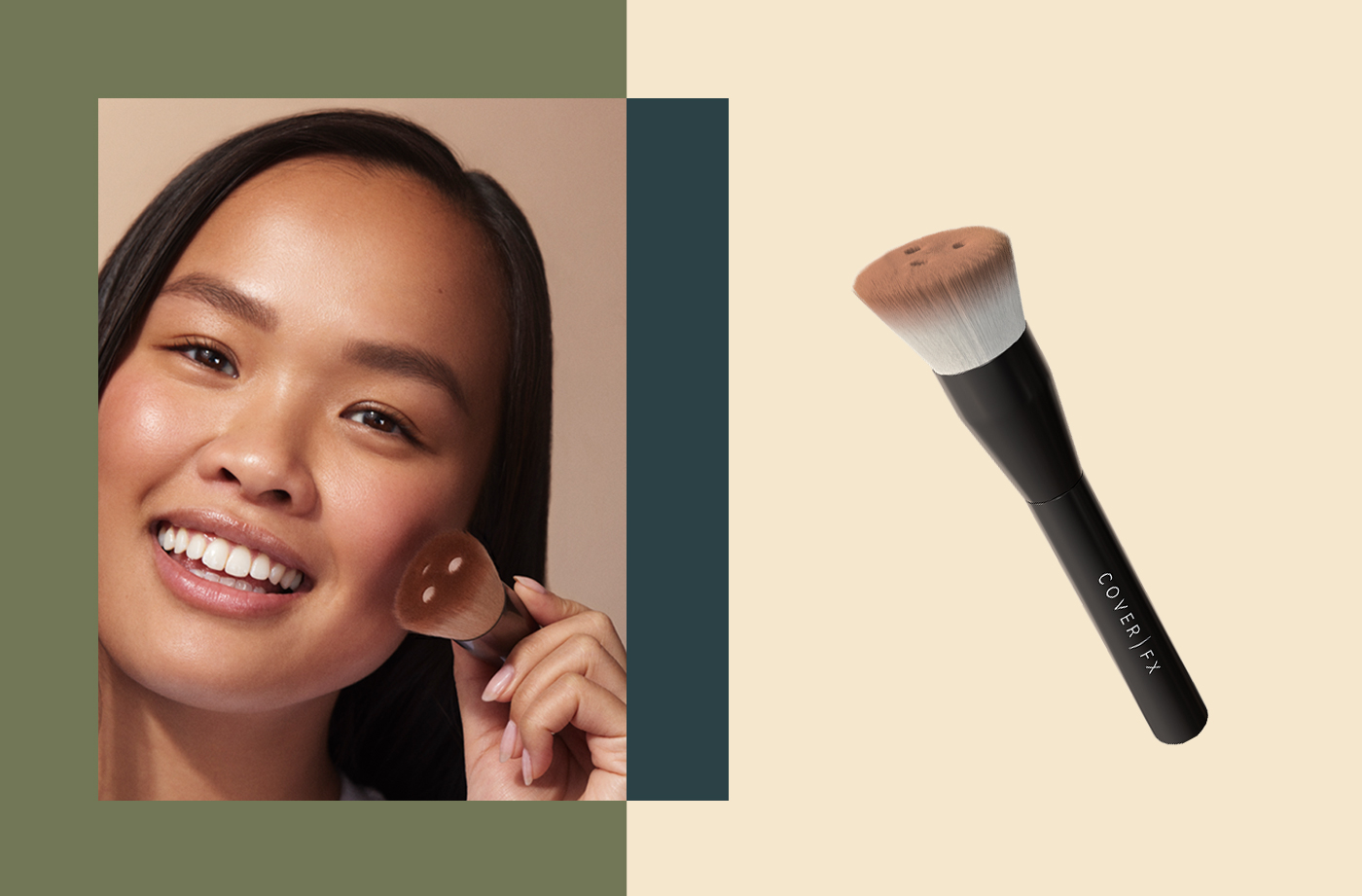 Thumbnail for This Custom Foundation Brush Gives You the Exact Coverage You're Looking For