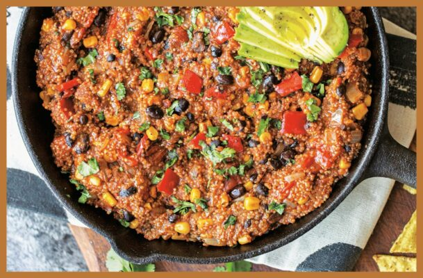 Make This Easy Enchilada Quinoa Recipe Now To Have 5 No-Cook Dinners This Week