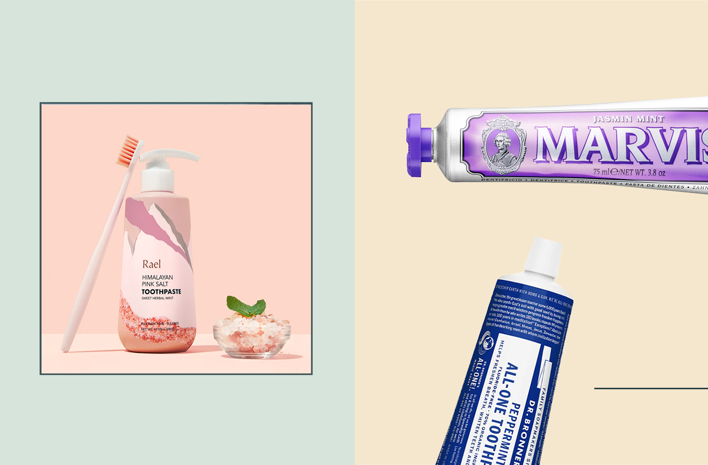 Thumbnail for 14 of the Best New Toothpastes That Are Raising the Taste Level of Oral Care