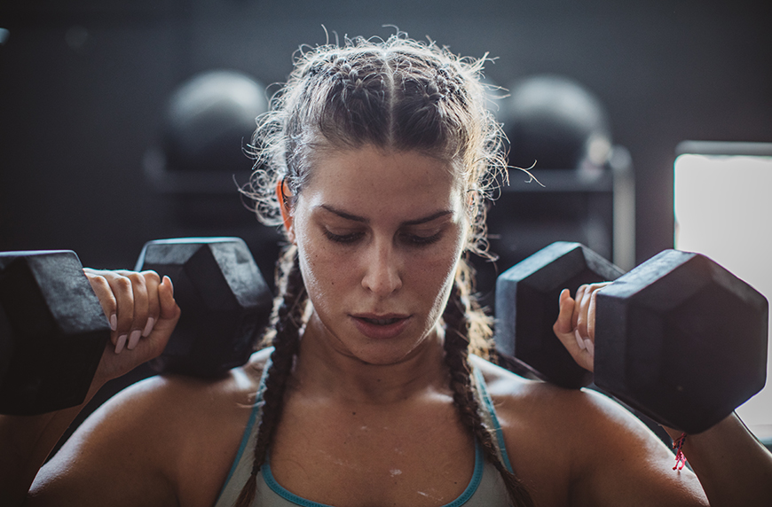 7 Anything-But-Boring Workouts You Can Do With a Pair of Dumbbells
