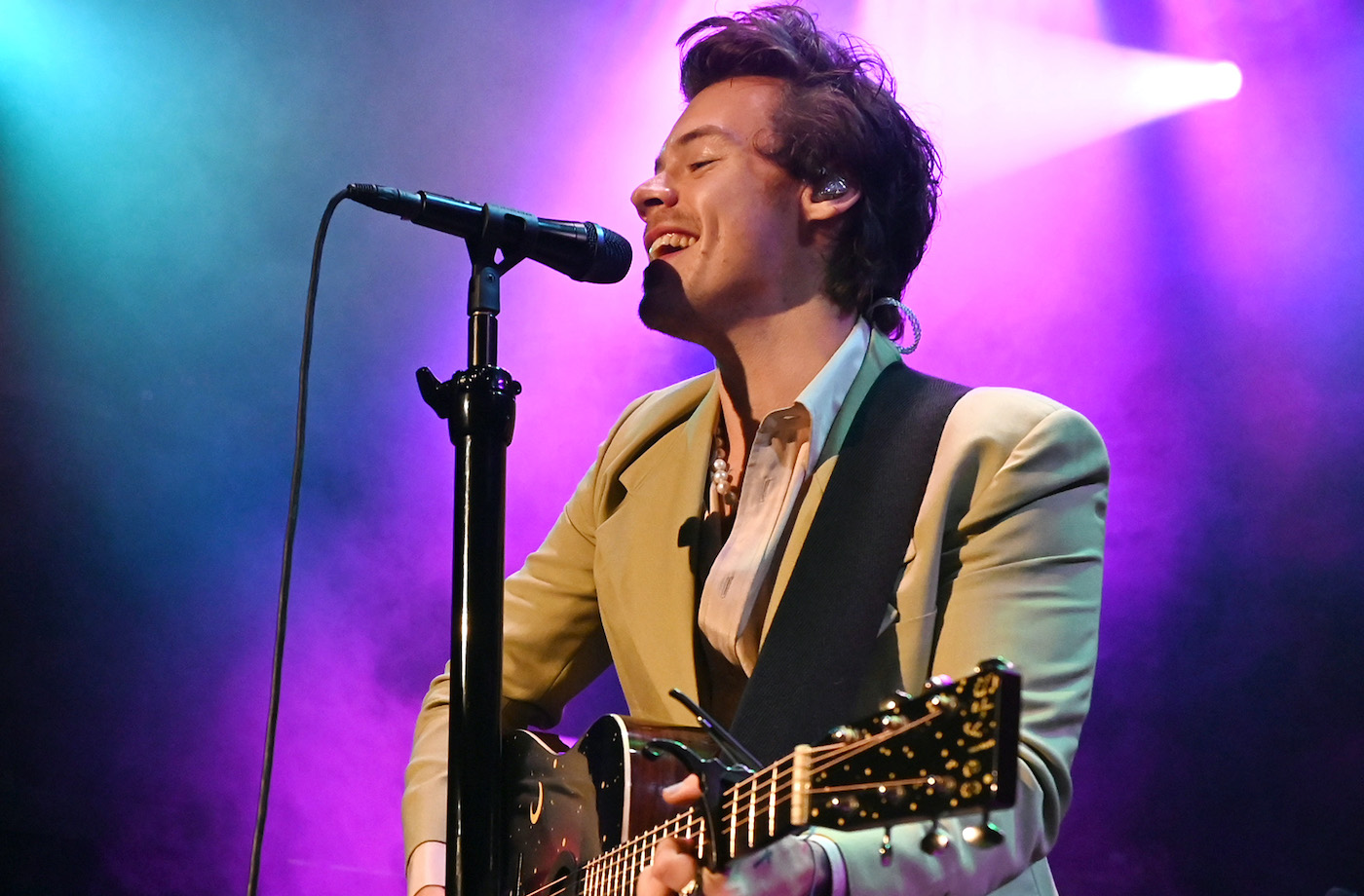 Thumbnail for Harry Styles Is Narrating Your Next Meditation—So Prepare for a Watermelon Sugar Mindfulness High