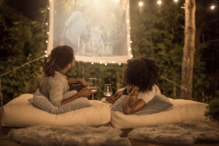 How to Project a Movie Outside, Because Drive-Ins Aren't Always an Option