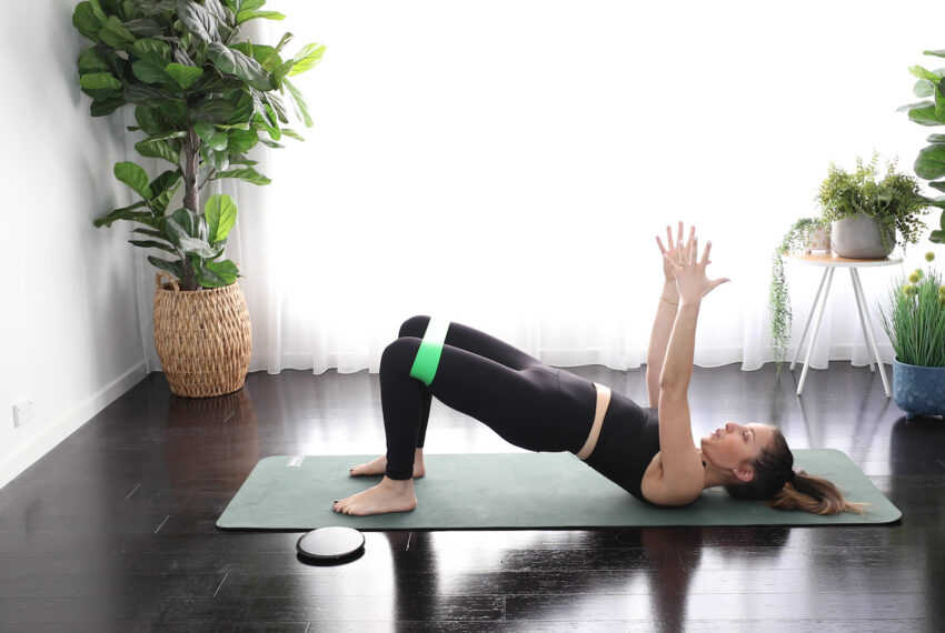You Can Get a Reformer-Level Full-Body Pilates Workout With Little More Than a Resistance Band