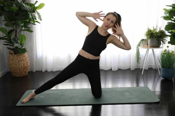 Set Your Obliques Ablaze With This 15-Minute Pilates Workout