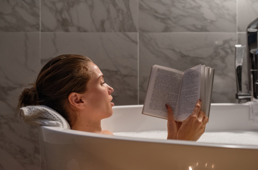 Thumbnail for Is There a Wrong Way To Take a Bath? 5 Common Mistakes a Derm Wants You To Avoid