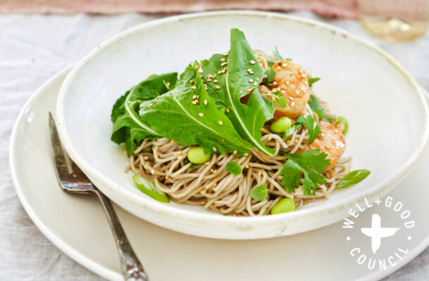 This Protein-Packed Spicy Noodle Salad Tastes Even Better as Leftovers
