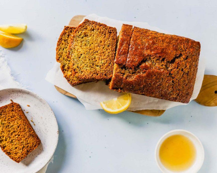 lemon poppy zucchini bread