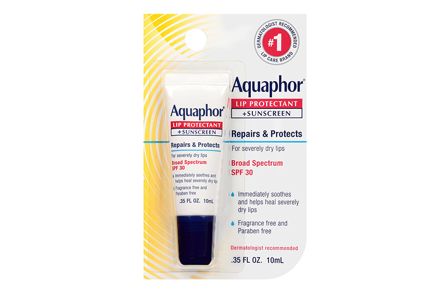 Aquaphor lip sunscreen