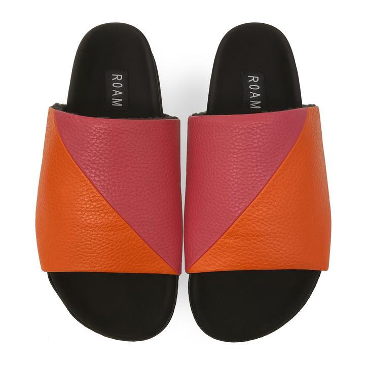 Roam Neon Slider Sandals