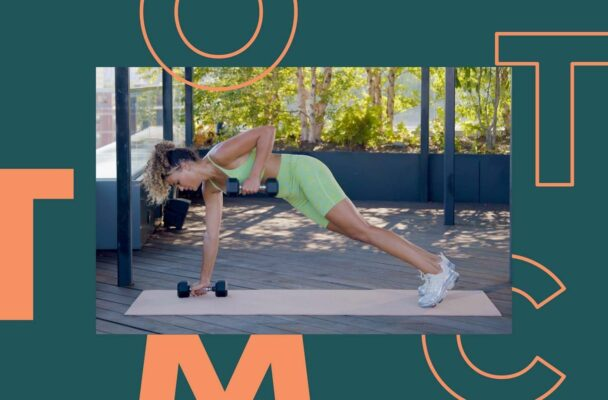 You Just Need 25 Minutes and Two Dumbbells for This Full-Body HIIT Workout
