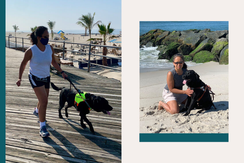 'I'm a Blind, Deaf Runner—Here's How My Guide Dog Changed My Life'