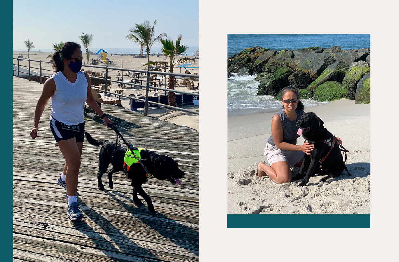 Thumbnail for 'I'm a Blind, Deaf Runner—Here's How My Guide Dog Changed My Life'