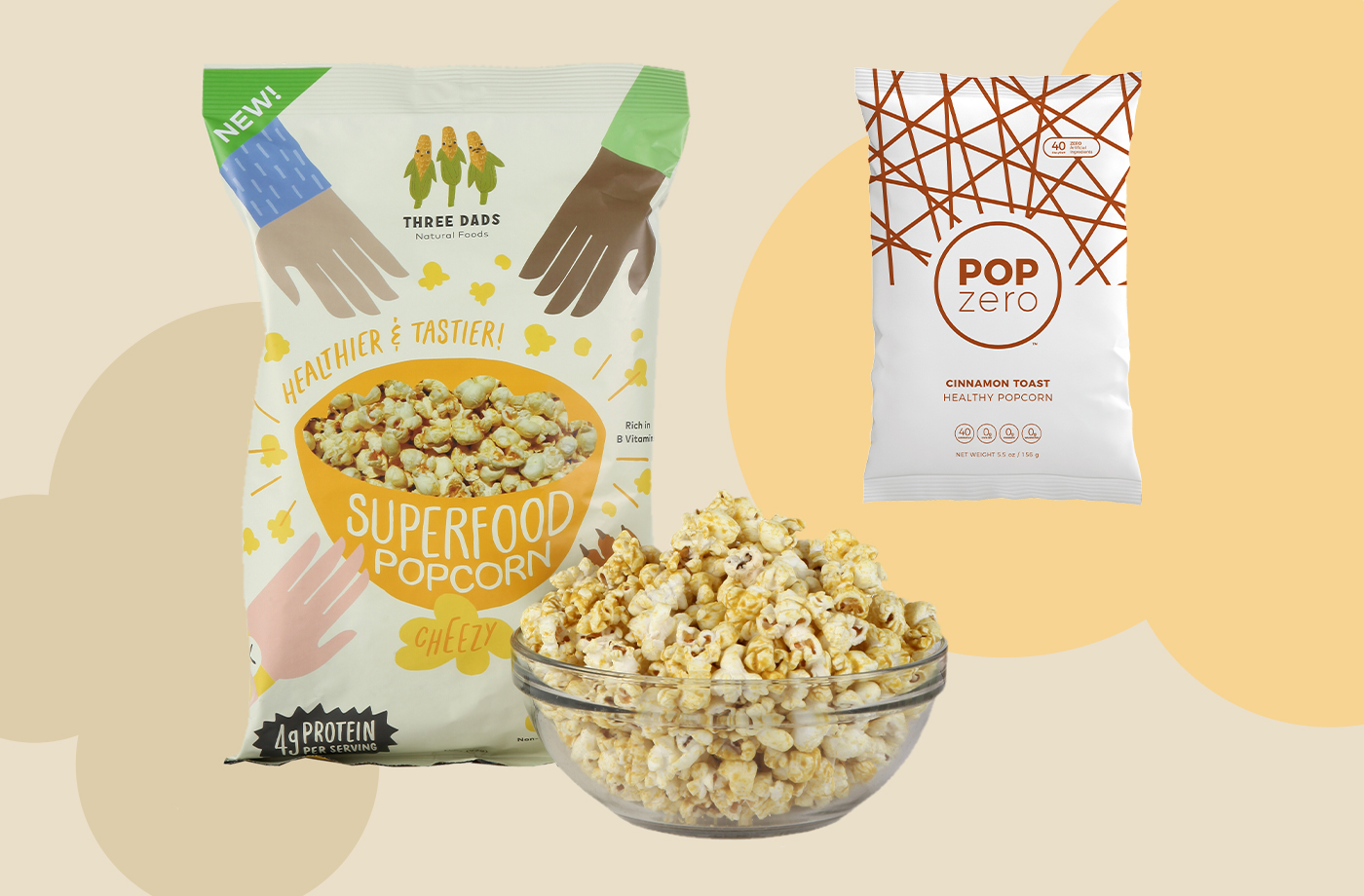 Thumbnail for Popcorn Has Always Been a Dietitian-Approved Snack, but These Brands Are Making It Even Healthier