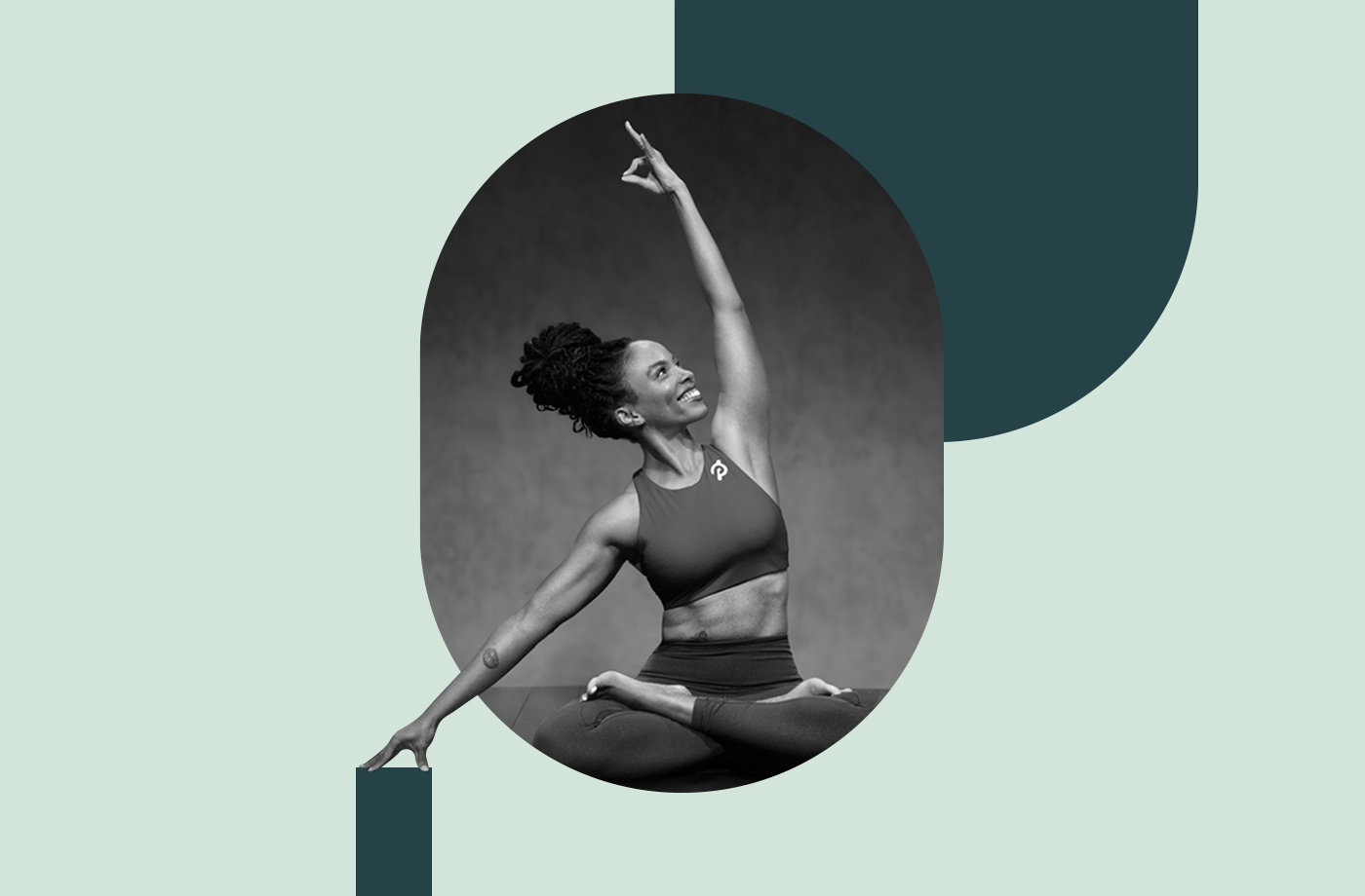 Thumbnail for Peloton's Chelsea Jackson Roberts Embodies #BlackGirlMagic On and Off the Mat