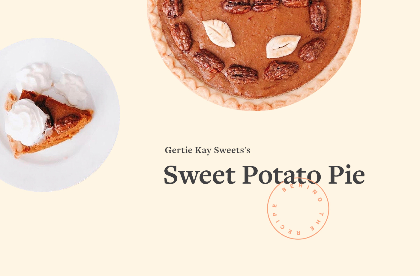 Thumbnail for This Delicious Sweet Potato Pie Recipe Has Been Passed Down for Generations