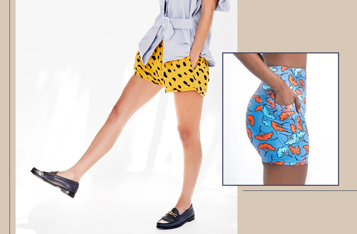 Thumbnail for 9 Pairs of Printed Sweat Shorts That Will Be Your New Summer Uniform
