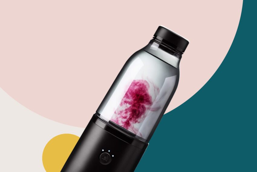 The Coolest Water Bottle Around Is Your Own Personal Robot Mixologist for Sports Drinks